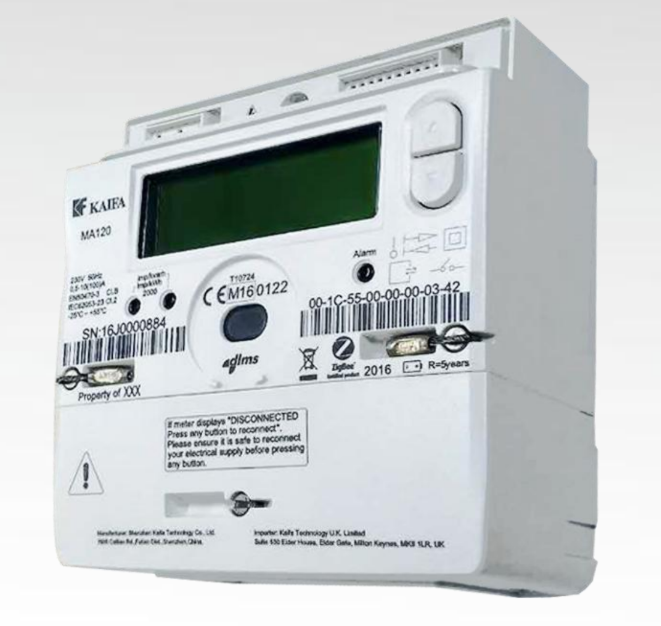 The Kaifa MA120 Electric Smart Meter